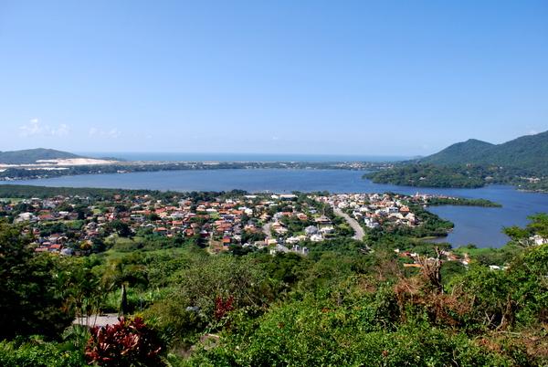 Lagoa da Conceição vista do alto | Florianópolis