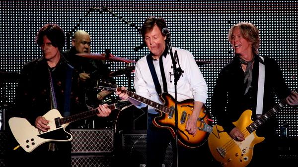 Paul McCartney em Goiânia | A banda