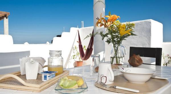 Casa Felicidad   Playa Del Carmen   A Varanda e o Café da Manhã