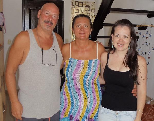 Fabrizio e Michelina   Casa Felicidad   Playa Del Carmen