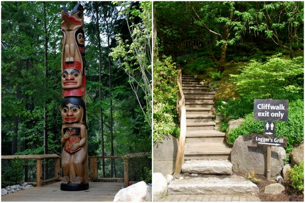 Capilano Suspension Bridge | Vancouver | Cliffwalk