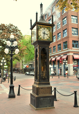 Vancouver | Gastown | Steam Clock