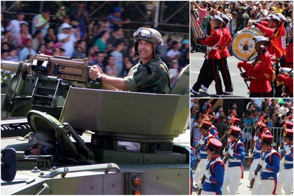 Desfile 7 de Setembro | Brasília | As forças armadas