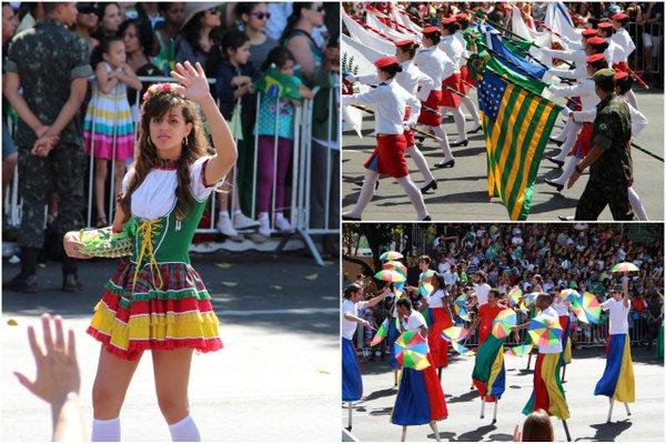 Desfile 7 de Setembro | Brasília | Fanfarras representando sua região