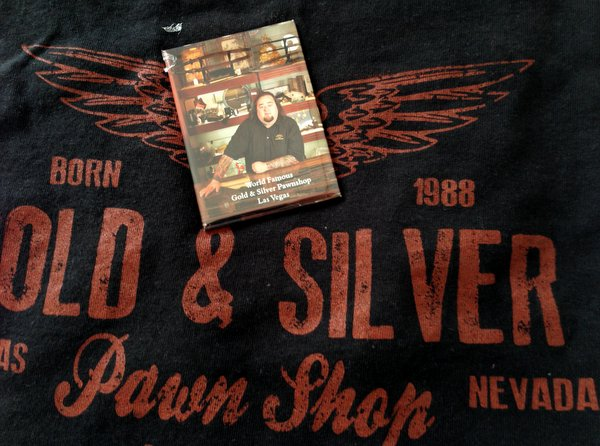 Las Vegas   Loja de Penhores   Camiseta e Imã de Souvenir