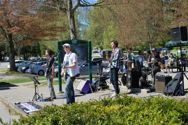 Stanley Park | Vancouver | Banda tocando