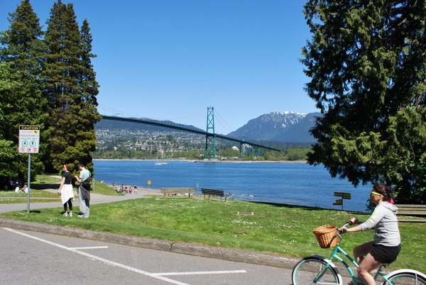 Stanley Park | Vancouver | Passeio de Bicicleta