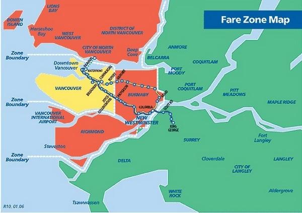 Vancouver | Mapa