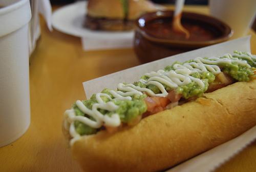 Culinária Chilena | Cachorro Quente com Guacamole