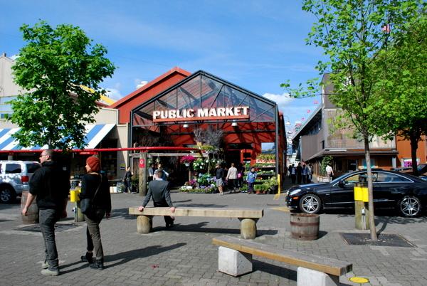 Granville Island   Entrada do Mercado Público