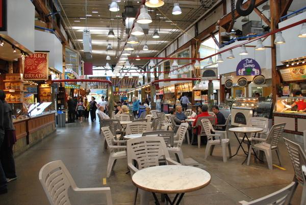 Granville Island   Restaurantes do Mercado Público