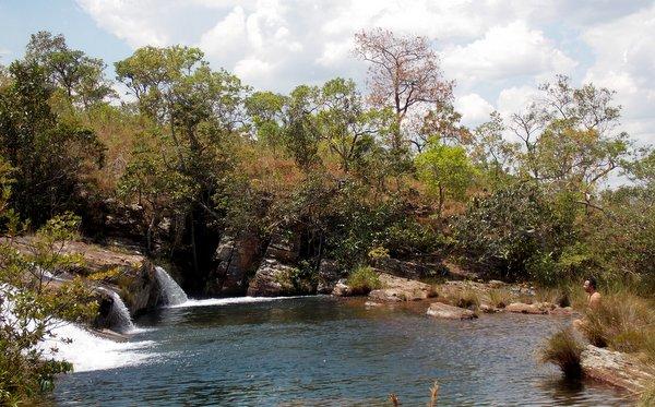 Cavalcante | Piscinão da Cachoeira do Prata