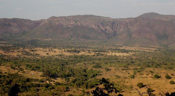 Cavalcante | Vista do Mirante da Ponte de Pedra