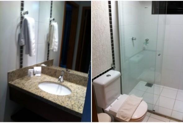 Hotel Boulevard Privé Caldas Novas | O banheiro