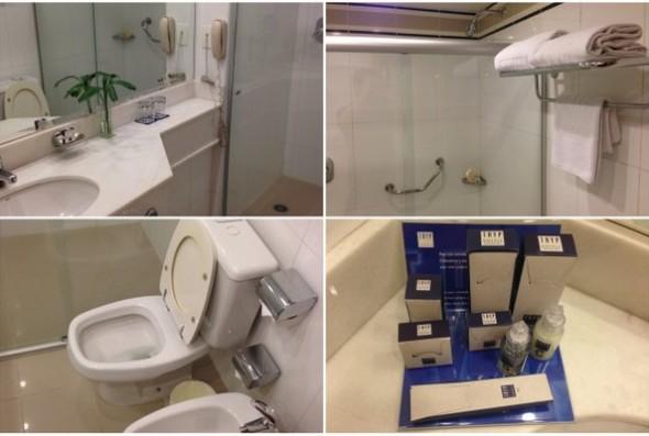 Meliã Tryp Paulista | O banheiro