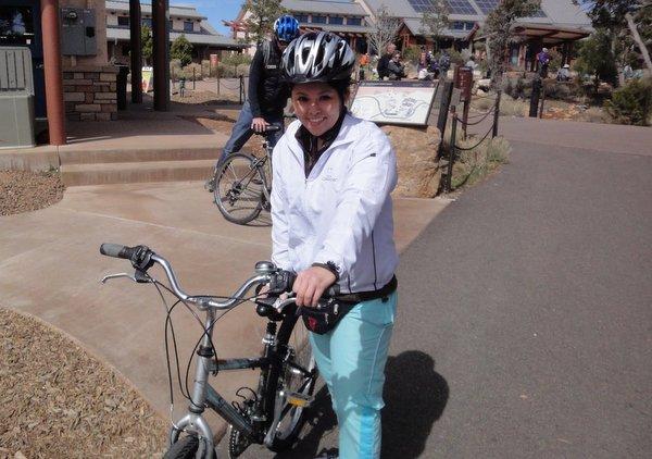 Bike Tour no Grand Canyon | Adaptação das bicicletas