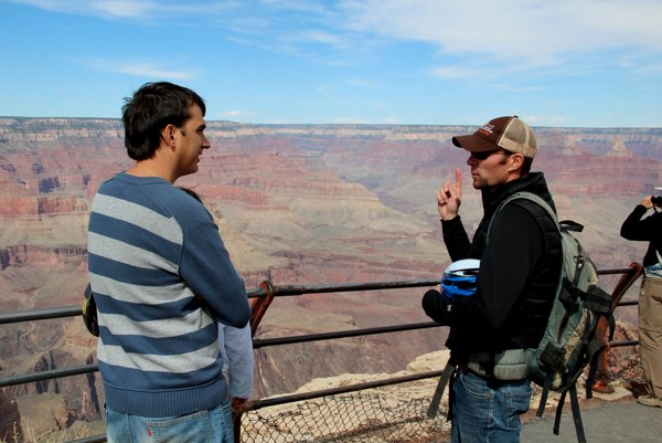 Bike tour no Grand Canyon | Explicações do guia Wess