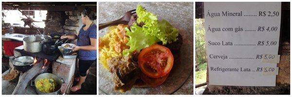 Cachoeira do Rosário | Almoço