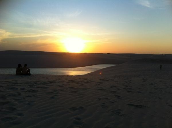 Lençóis Maranhenses | Pôr do sol