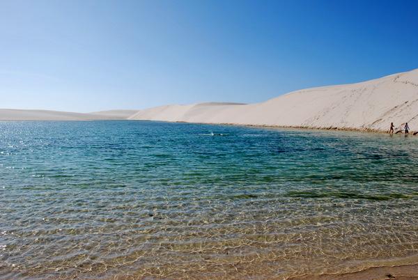 Lençóis Maranhenses | Lagoa Azul 5