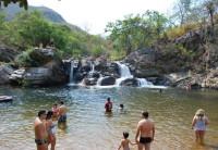 Pirenópolis: Cachoeira das Araras é opção de fácil acesso