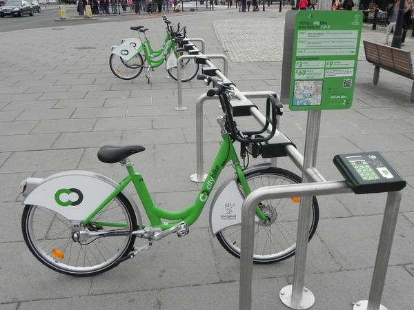Liverpool | Estação de Bicicletas Públicas