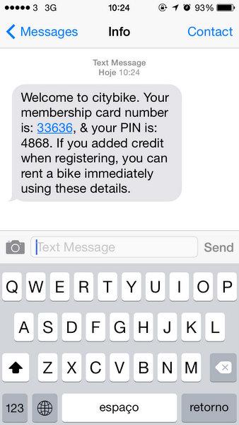 Liverpool | SMS da CityBike
