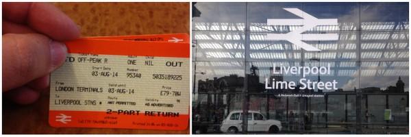 Bate-e-volta em Liverpool | Tickets e Lime Street Station