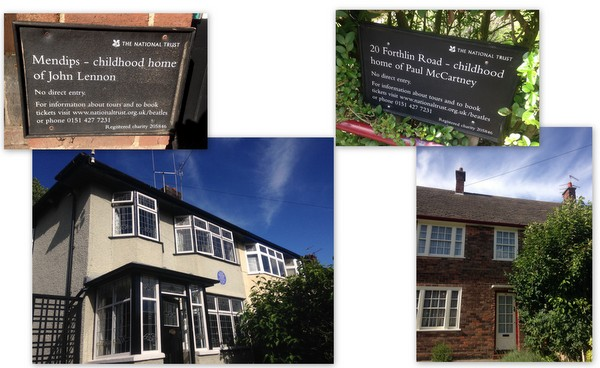 Liverpool | National Trust - Beatles' Childhood Homes Tour