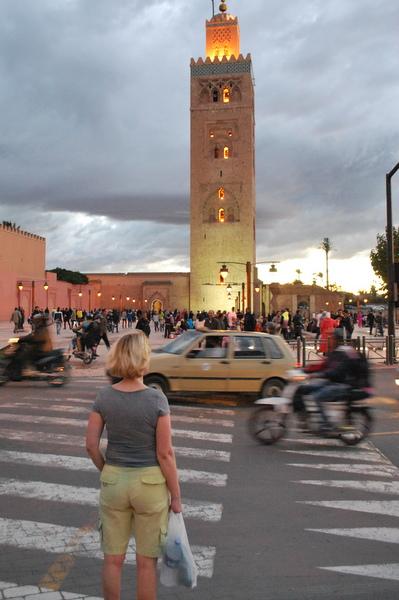 Mulher sozinha em Marrakesh | Marrocos