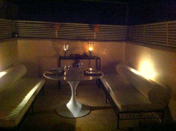 Riad De Vinci | O jantar no terraço