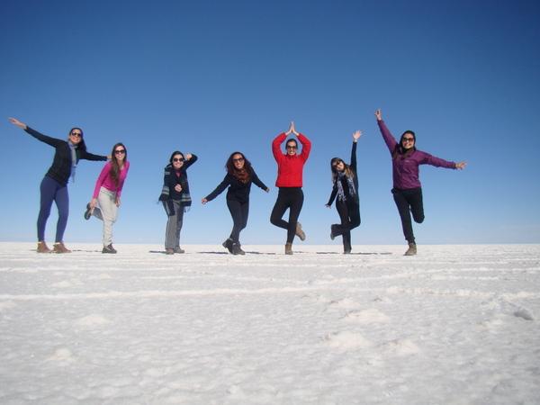 Salar de Uyuni, um dos principais destinos dessa viagem