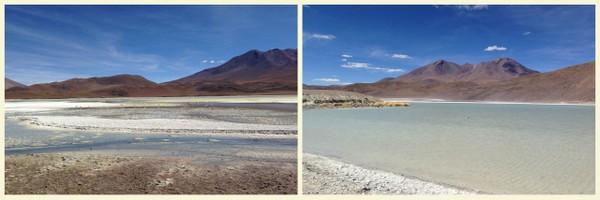 Salar de Uyuni | Lagoa Hedionda e Lagoa Honda