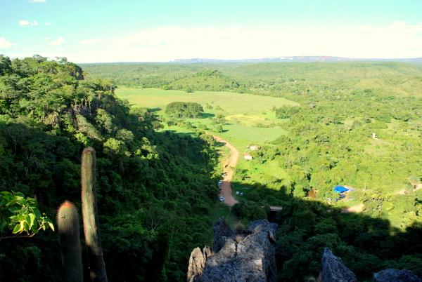 Vista do alto da Caverna | Terra Ronca
