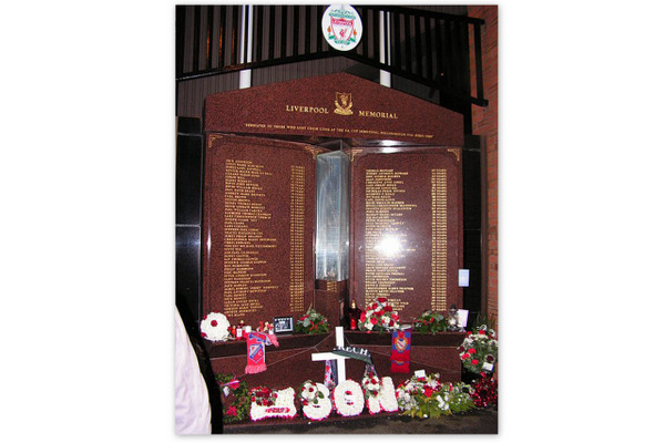 Anfield Hillsborough Memorial