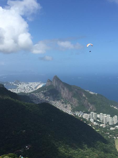 Trilha da Pedra Bonita   Paraglider
