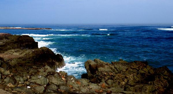O litoral de Arica
