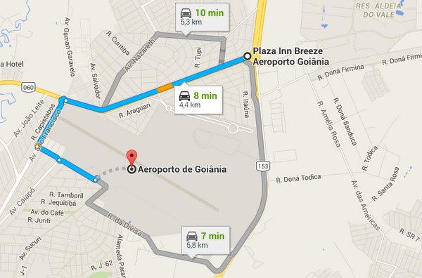 Onde Hospedar em Goiânia próximo ao Aeroporto Santa Genoveva