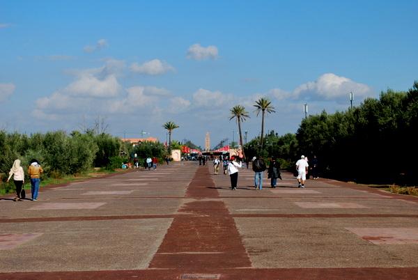 Marrakech | Jardim de la menara 1