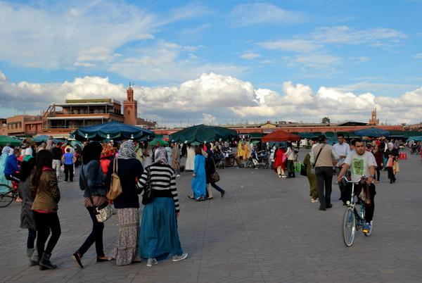 Marrakech | Praça Jamma El Fna