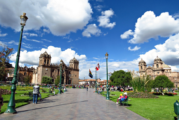 Plaza das armas | Cusco