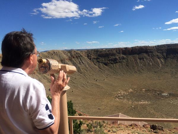 Cratera do Meteoro   Arizona   Mirante