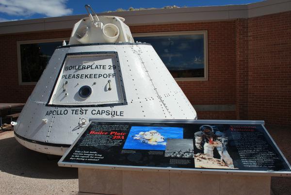 Cratera do Meteoro   Arizona   Cápsula teste do Apollo BP-29