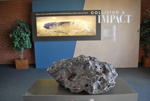 Cratera do Meteoro   Arizona   Museu