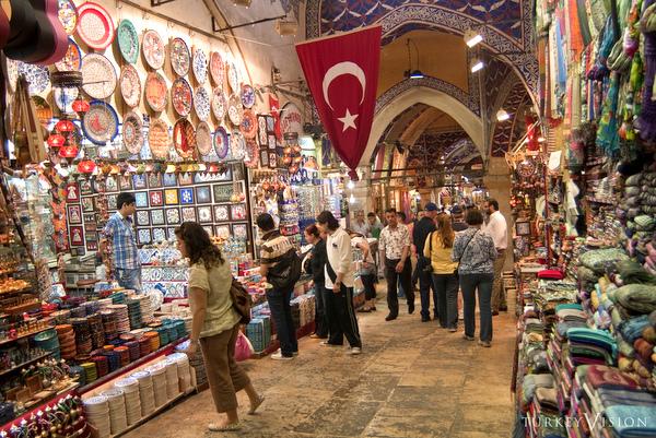 Grand Bazar   Lojas   Istambul