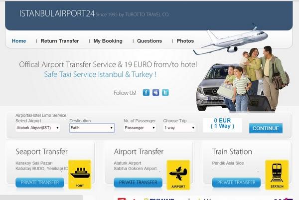 Tranfer Aeropoto Istambul