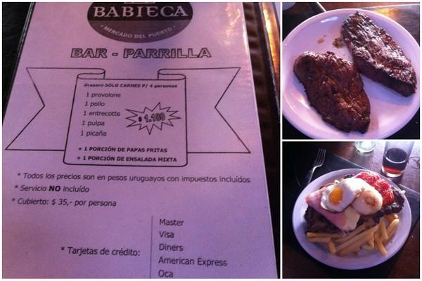 Parrilla | Mercado Del Puerto | Montevidéu