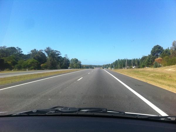 Rodovia entre Montevidéu e Punta Del Este