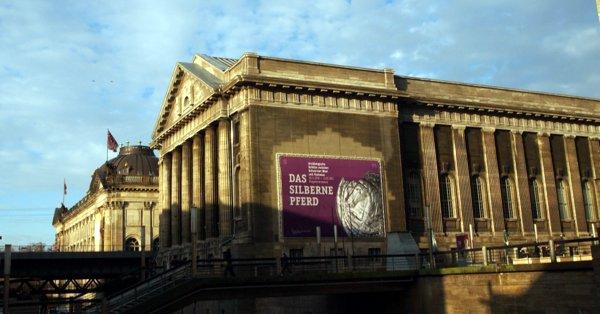 Fachada do Pergamon Museum em Berlim