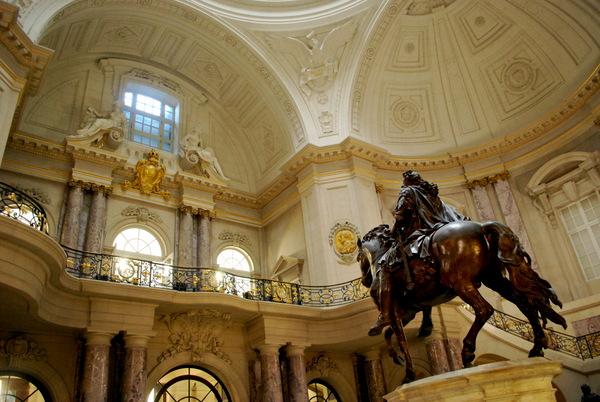 Hall de recepção do Bode Museum em Berlim